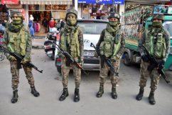 KAshmir women officers girls